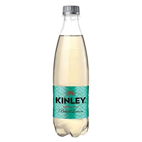 6x Kinley Bitter Lemon Zitrone Lemonade PET 0.75 Lt 750ml erfrischend Zitronengeschmack