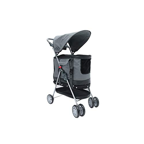 NHLCW kinderwagen voor huisdieren, multifunctioneel kinderwagen, kinderwagen, kinderwagen voor op reis, kat hond, kinderwagen, poppenwagen, jogger, drie wielen