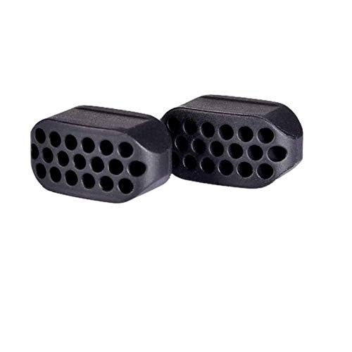 2 stücke jawline trainierer kugel facial kiefer muskulatur pallin fitness anti altern lebensmittel kieselkiefer kinn kinn weck heben (Color : Black 2pcs paper box)