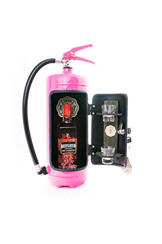 Die Firebar in rosa/Minibar Feuerlöscher/Girly Sonderedition/JerryCan 6L