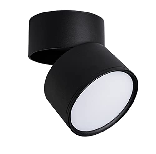 QAZWSXED LESANGBAIHUODIAN Dimpiente Plegable Giratorio LED Downlight 10W15W20W / 2x10W 2x15w 2x20w Luz de Techo de Alta Potencia de Alta Potencia AC85~265V Lámpara de Techo LED