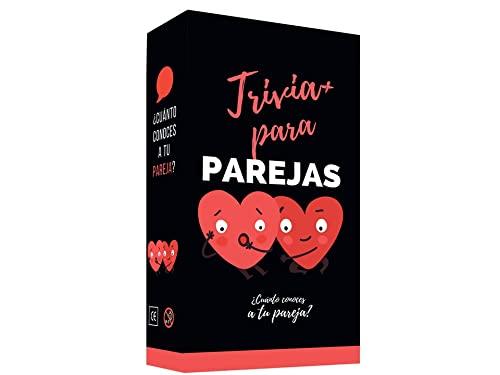 fedriani Trivial Parejas Plus (edición Mejorada) ❣️ 260 Preguntas❣️Juego DE Cartas Muy Divertido   Regalos para Parejas   De 2 a 10 Jugadores.