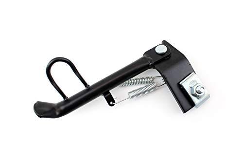 Seitenständer Schwarz für verschiedene Roller und Scooter