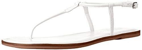Bernardo Women's Lilly Flat Sandal, White, 10 M US