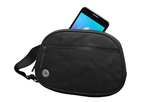 DefenderShield EMF & 5G Radiation Protection Fanny Pack - Hip Pack for Men & Women - Waist Belt Bag with Multiple Pockets and Adjustable Strap