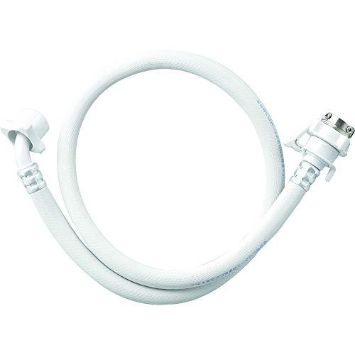 SANEI 洗濯機給水ホース 全自動用 元口付き ワンタッチ接続 1.5m PT17-1-1.5
