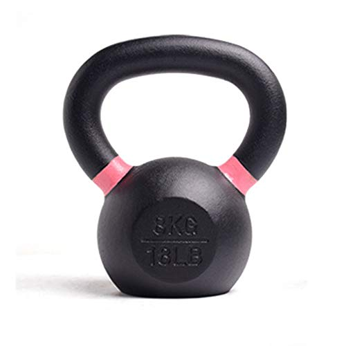 Kettle Bells, Home Fitness Exercise and Fitness Use, Body Muscle Training, Weight Loss Shaping Fitness Equipment, Non-slip Handle, Pure Iron Inner Core,8kg