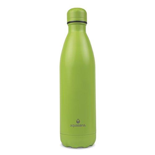 Aquasana Vacuum Sealed Insulated Stainless Steel Bottle, 25 oz., Green
