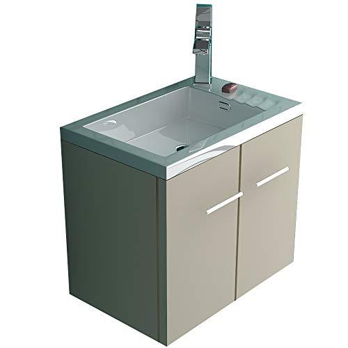 mobiletto bagno tortora Alpenberger - Set di mobili da bagno