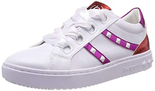 bugatti Damen 431636045959 Sneaker, Mehrfarbig (White/Trends 2080), 38 EU