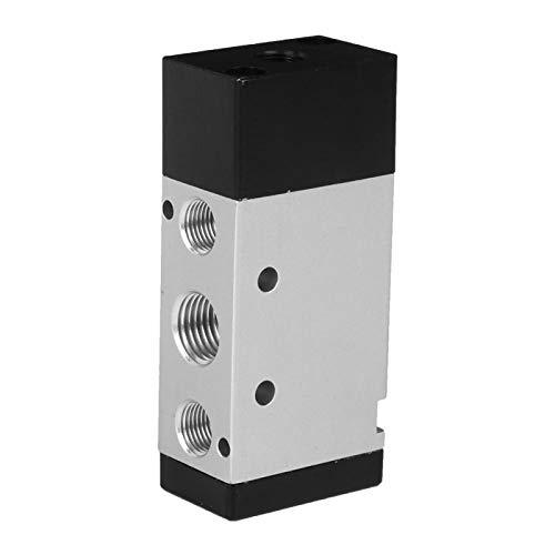 Válvula de interruptor de palanca Válvula mecánica Válvula de control neumático 2 posiciones 5 vías Piezas neumáticas para control de aire para equipos textiles(4A210-08 G1/4')