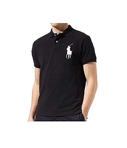 Ralph Lauren para Hombre Polo Big Pony de Custom Fit Malla Camisa