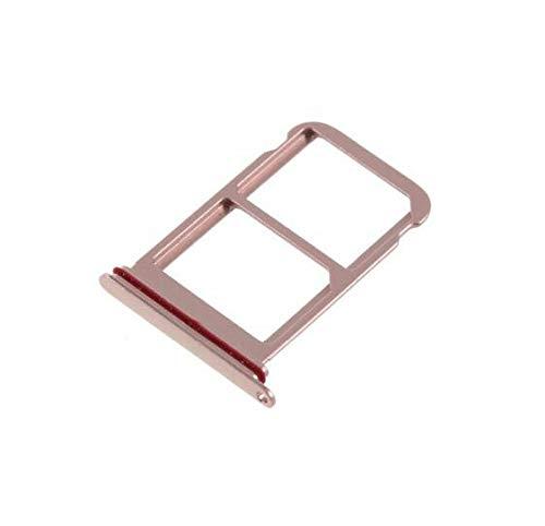 5 unids/Lote Parte de la Ranura de la Bandeja de la Tarjeta SIM Dual para Las Piezas de Repuesto del Adaptador de la Ranura del Soporte de la Bandeja de la Tarjeta SIM Huawei P20 Pro