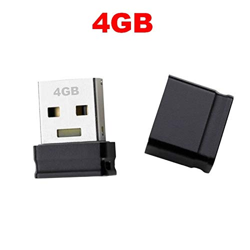 GiXa Technology Mini USB Stick Speicher 32GB / 16GB / 8GB / 4GB für PC/Computer/Notebook/Auto-Radio Laufwerk (4GB)