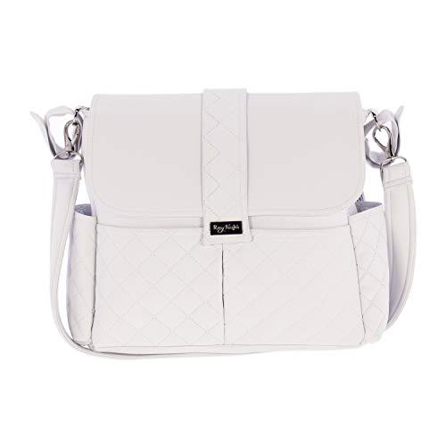 Bolsa de Canastilla Rosy Fuentes en color blanco