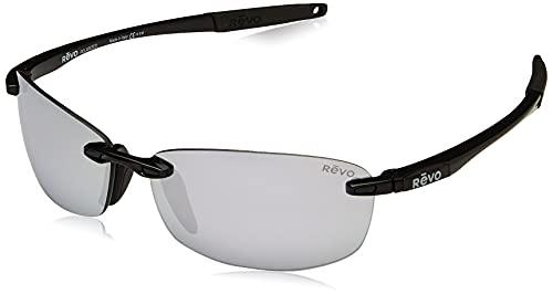 Revo Eyewear Occhiali da sole Descend E Nero con Lenti Polarizzate Stealth