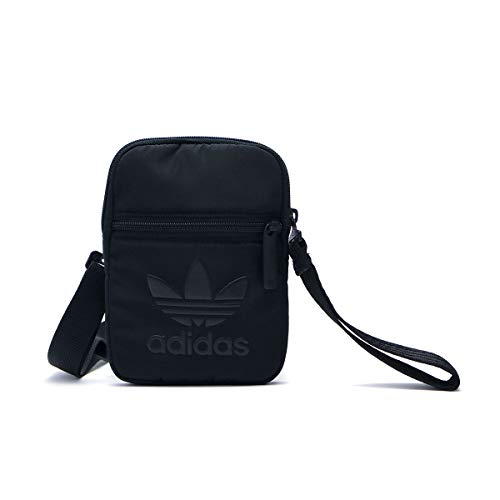 adidas Festival Bag, Bolso bandolera para Mujer, Negro (Negro), 24x15x45 cm (W x H x L)