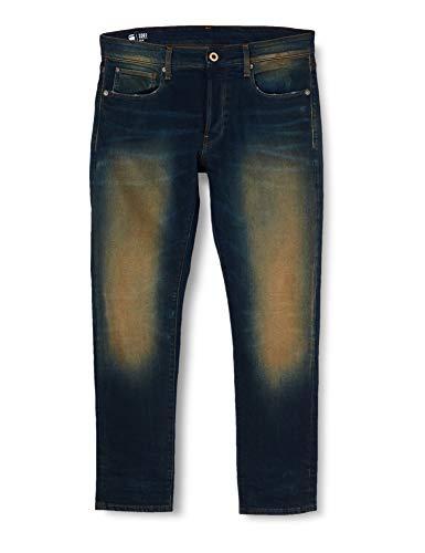 G-STAR RAW Herren Jeans 3301 Slim Fit, Antic Blight Green C052-B814, 32W / 32L