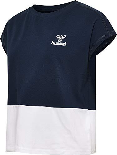 hummel Damen HMLJULIA T-Shirts, Schwarz Iris, M