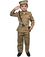 Wishing Rack Police Dress Costume for Kids Years, Community Worker Costume