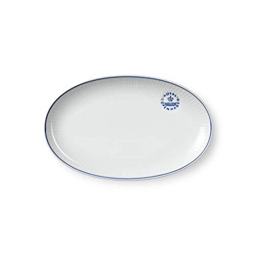 "Royal Copenhagen Blueline Oval Dish 9"""