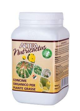 Altea NUTRICACTUS Concime Organico granulare per Piante grasse, 300 Grammi