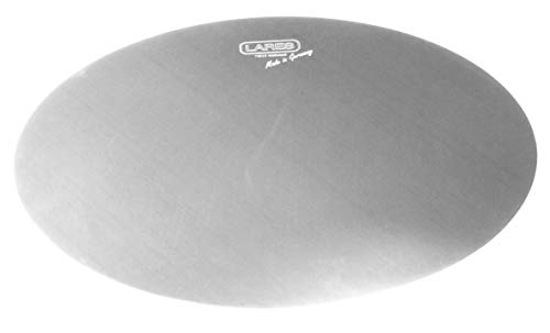 Lares Cakeboard - Tortenunterlage - Tortenretter - aus Edelstahl - Größe: 25cm - Made in Germany