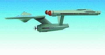Star Trek Classic Enterprise NCC-1701 Ship