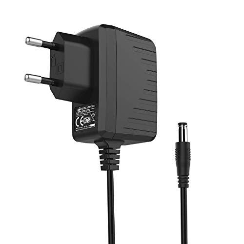Bqeel DC 5V 2A Adaptador de Corriente | 5,5 mm x 2,1 mm | AC 100-240V | Adaptador para Android TV Box y Otros electrodomésticos