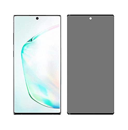 3 piezas Vidrio Templado Anti Espía, para Samsung Galaxy S20 Ultra S8 S9 plus Protector de Pantalla de Privacidad-para Samsung Galaxy NOTA 10