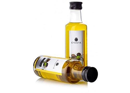 aceite de oliva virgen extra en botella de cristal de 100 ml marca La Chinata