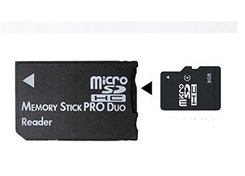 Micro SD SDHC TF Memory Stick MS PRO DUO CARD READER PSP Convertitore adattatore per convenienza