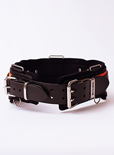 "Buckaroo Leather 32"" Back Support Tradesmen's Tool Belt"