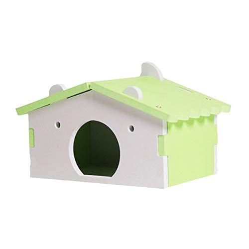 KunLS Hamster Casa Casita para Animal Doméstico Hamster Accesorios Juguetes para Hamsters...