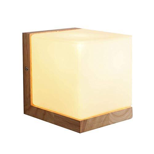 Apliques Pared lámpara de pared del hotel de noche Corredor de atenuación lámpara de pared de patio al aire libre pared del pasillo Sala de LED de interior cuadrado de la lámpara de pared impermeable