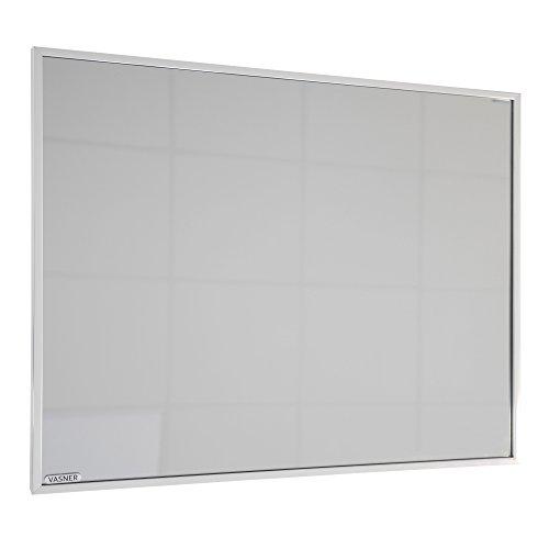 VASNER Zipris S Infrarotheizung Spiegel + Chrom-Rahmen, 400/700 / 900 Watt, 5 J. Garantie, Spiegelheizung Elektroheizung, 100% Made in Germany (700)
