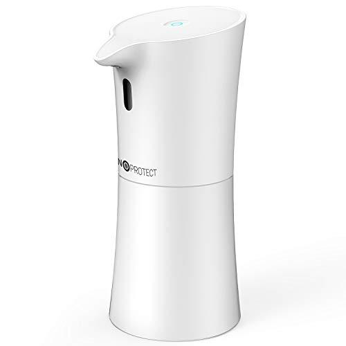 Nanoprotect | Automatischer Desinfektionsspender | 500 ml mit Infrarot Sensor | Kontaktloser Alkohol Desinfektionsmittelspender