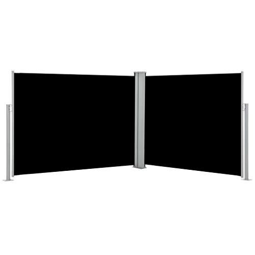 UnfadeMemory Tenda da Sole Laterale Retrattile Protezione Vista Paravento Estraibile Esterno Crema 170x1000 cm