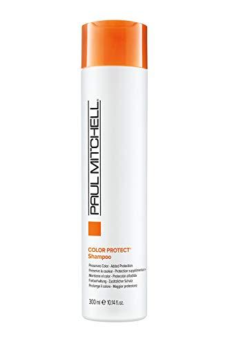 Paul Mitchell Color Protect Shampoo - tägliche Haar-Pflege für coloriertes Haar, sanftes Haar-Shampoo, spendet Feuchtigkeit, 300 ml