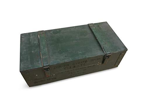 WoMa Kreativ 1 x Originale Munitionskiste Holzkiste aus Holz, Lagerkiste Werkzeugkiste, Transportkiste, Truhe, Dekokiste - 2