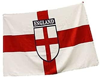 Decoración y accesorios de fiesta de la bandera de Inglaterra de San Jorges, ideal para celebraciones y paquetes de fiesta (toalla de playa)