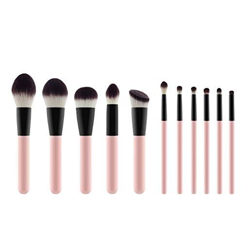 LAAT 11pcs Make-up Pinsel Gesichtsmake-up Pinsel 19 * 15 * 1.5cm Aus Nylonwolle Geeignet für Frauen Make-up Verfügbar in einer Vielzahl von Stilen