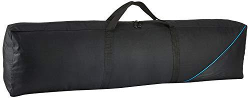 MONACOR BAG-20LS Nylon-Stativtasche für den Transport, der Stativköcher dient zur Aufbewahrung von zwei Boxenstativen, in Schwarz