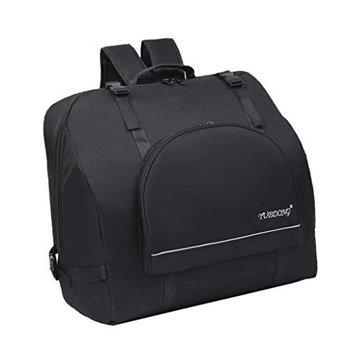 kesoto Premium Akkordeon Tasche Rucksack Gigbag mit Schultergurte für 60-120 Bass Akkordeon, 12mm gepolstert - 80-96 Bass