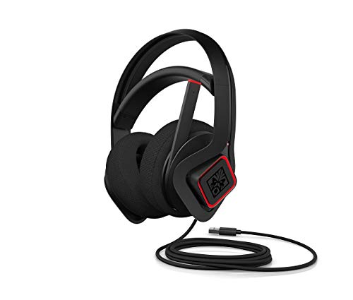 OMEN Mindframe Prime Gaming Headset with Cooling FrostCap Ear Cups, Custom RGB, 7.1 Surround Sound, Noise-Canceling Microphone (6MF35AA) (Renewed)