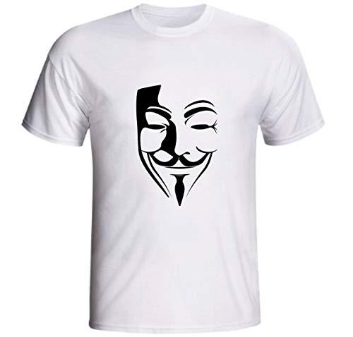 Camiseta Máscara V De Vingança Filme