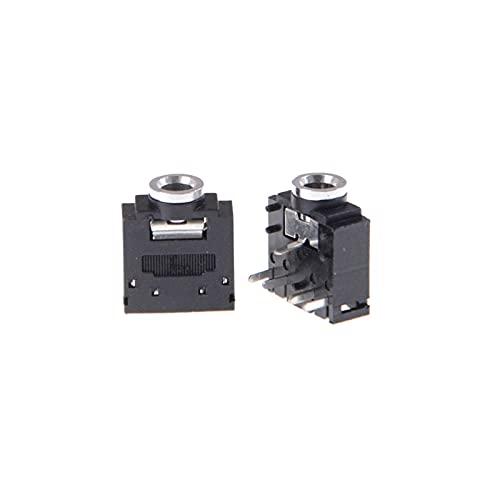 LUYIPINGQIWND 10 pcs/lot 5 Broches de Prise Audio 3,5 mm de Prise Audio PCB Support pour Le Casque PCB Mount Stéréo Jack
