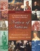 Nation of Nations: A Narrative History of the American Republic : To 1877 Chapters 1-17 by James West Davidson (2004-08-01)