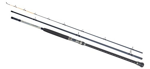 Shakespeare Agility Sea Tipster 3-Piece Rod - Grey/Blue, 11 ft/Size 30/120 g