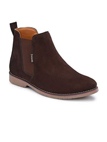 Fentacia Men Synthetic Suede Chelsea Boots